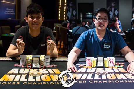 Aussie Millions '16: Alex Lee e Minh Nguyen Vencem Eventos #13 e #14