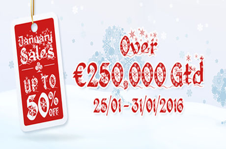 January Sales Running on the iPoker Network Until Jan. 31