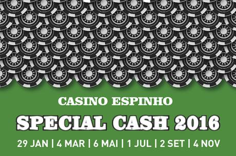 Special Cash de Volta ao Casino de Espinho a 2 de Setembro