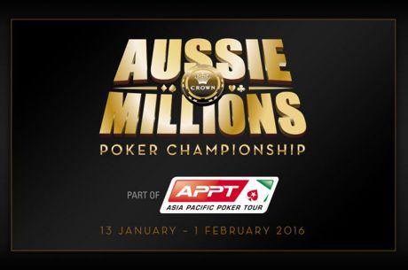 Aussie MillionsメインイベントDay 3へ