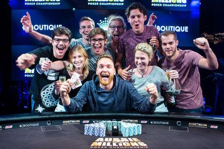 PokerNews Boulevard - Fabian Quoss wint AU$100.000 Challenge voor $1.446.480!