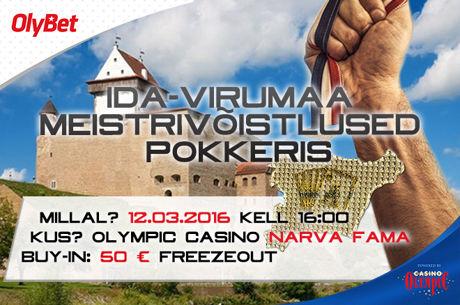 Olympic Casino ja OlyBet korraldavad esimesed Ida-Virumaa meistrivõistlused