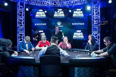 Como Jogavas estas Mãos da Mesa Final do Aussie Millions? (Parte 2)
