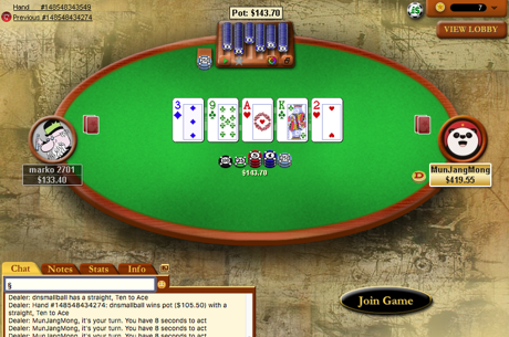 PokerStars Vai Acabar com as Mesas de Cash Heads-Up