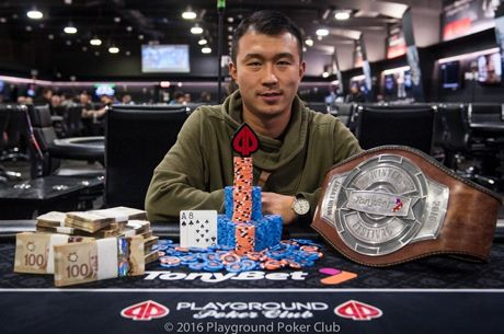 "Jiachen ""Jack"" Gong Wins TonyBet Winter Festival Main Event"