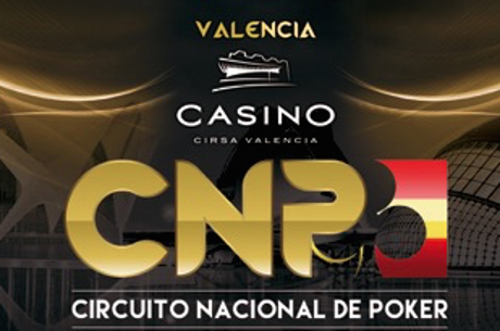 Casino Cirsa Valencia recibe la primera parada del Circuito Nacional de Poker 2016