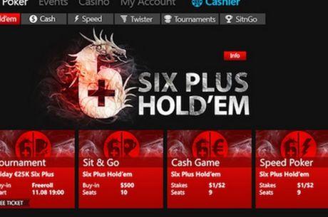 """""""iPoker"""" tinklas pristato """"6-Plus Hold'em"""" pokerio rūšį"""