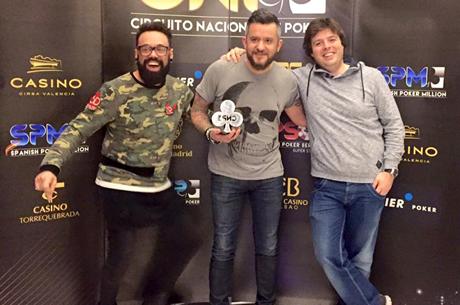 Marco Almeida Venceu Side Event Crazy Pineapple CNP Valência