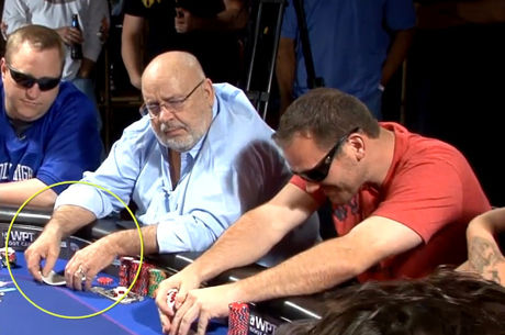 Reading Poker Tells Video: During-the-Hand Shuffling of Hole Cards