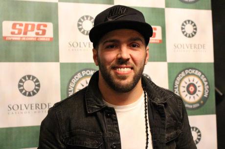 Fábio Carvalho lidera o Dia 1 da Etapa #3 da Solverde Poker Season