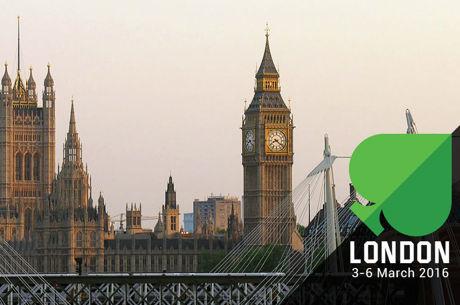 Unibet Open London 3-6 март с £825 Main Event и £1,650 High Roller