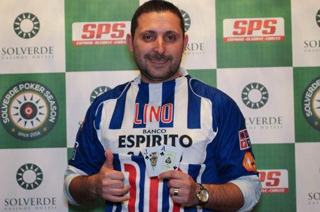 Fausto Silva Vence  Etapa #3 da Solverde Poker Season 2016 (€17.020)