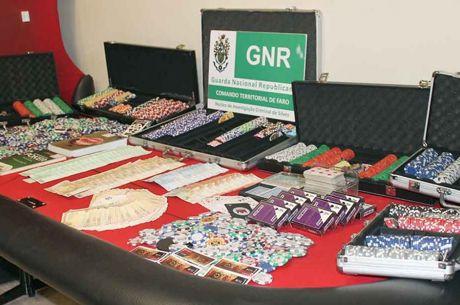 GNR Fecha Casino Clandestino no Parchal (Algarve)