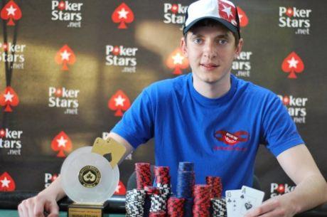 """""""Eurekos"""" pokerio ture Paulius Venčkauskas iškovojo 20,000 eurų prizą"""