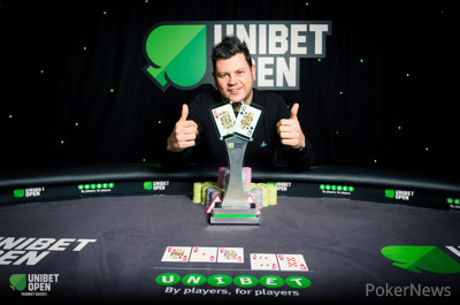 """Unibet Open"" Londono trofėjus - Davido Shallow rankose"