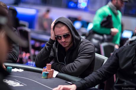 Стоян Стефанов на финалната маса на Eureka Poker Tour...