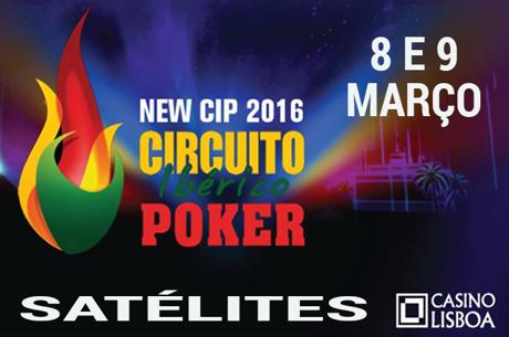 Satélites CIP 2016: 8 e 9 de Março no Casino Lisboa