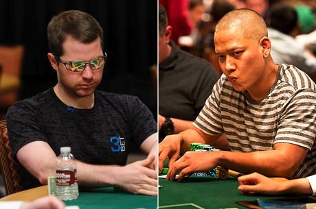 Jonathan Little Flopa Top Pair num 3-Bet Pot Contra Tuan Le