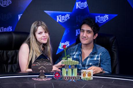 Ivan Luca Bateu a Namorada em Heads-up e Venceu Main Event Eureka Poker Tour Rozvadov...