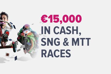 Grinderz лига с MTT, Sit&Go и кеш състезания за €15,000 до...
