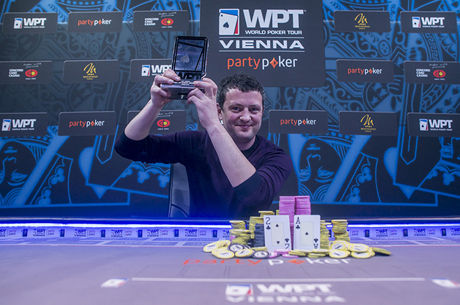 James Akenhead Wins the partypoker WPT Vienna Warm-Up for €65,000