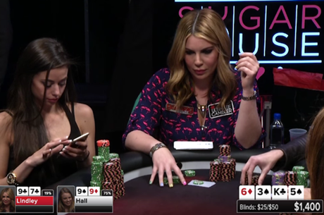 Poker Night In America - Ladies Nigh no Sugar House Casino em Filadélfia (Parte 3)