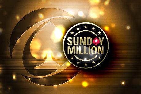 """Nepraleiskite """"Sunday Million"""" jubiliejaus su 10 milijonų dolerių garantija"""