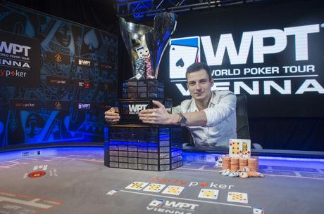 Vlad Darie premier roumain vainqueur sur un World Poker Tour, Dietrich Fast 4e du WPT Vienne