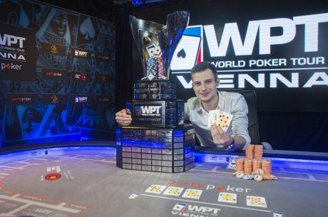 Vlad Darie coronado campeón del partypoker WPT Viena