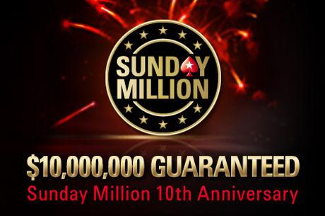 Urodzinowy Sunday Million dla Kanadyjczyka, 4 Polaków w top 100