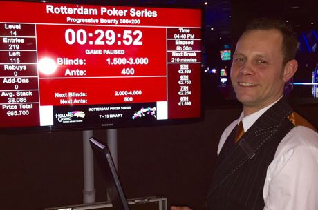 Holland Casino Rotterdam brush Ries Dekkers over 's werelds eerste Live Progressive Bounty