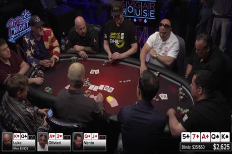 "Poker Night In America - High ""Steaks"" Poker no Sugar House Casino em Filadélfia"