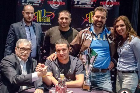 Omar Lakhdari remporte le TPS de La Grande Motte, Giuseppe Zarbo runner-up après un deal à...