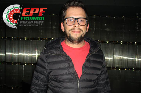 Paulo Amorim Lidera Dia 1A do Espinho Poker Fest