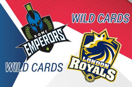Global Poker League: Os Wildcards dos Rome Emperos e London Royals