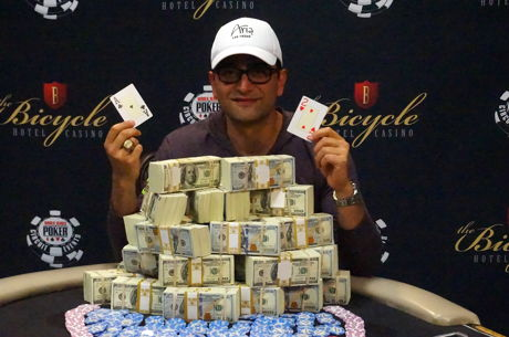 Антонио Эсфандиари выиграл свой первый перстень WSOP...