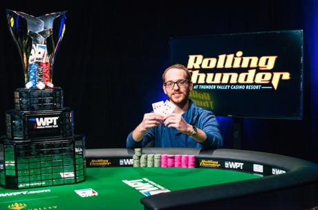 Ari Engel Finds a Cash and Harrison Gimbel Wins WPT Rolling Thunder for $275,112