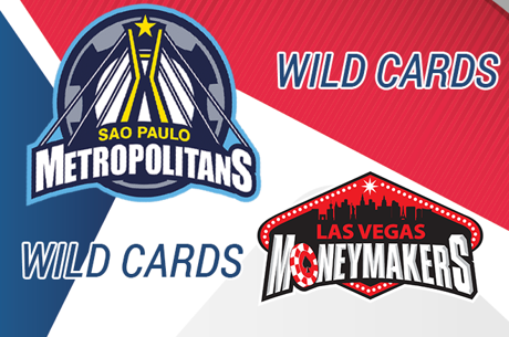 Wildcards Global Poker League: Mojave, Bauer,Scott Ball e Chris Moneymaker em Jogo