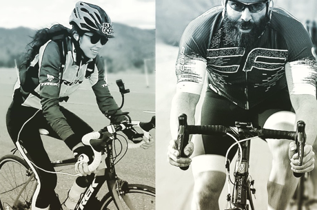Dan Bilzerian and Samantha Abernathy Complete Vegas-To-L.A. Bike Rides
