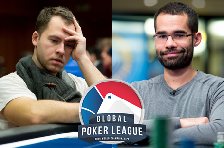 Jungleman e Tony Gregg Desiludiram no Dia 1 da Global Poker League