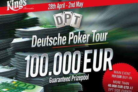 Deutsche Poker Tour je zpět v King's Casínu, online kvalifikace proběhnou na 888poker...