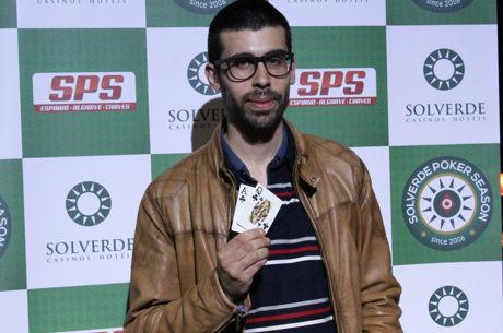 Hugo Sousa Vence Etapa #5 da Solverde Poker Season 2016