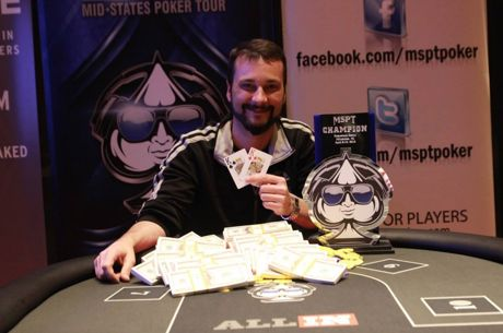 Travis Lauson Wins MSPT Potawatomi for $129K After Second-Place Finish in 2015