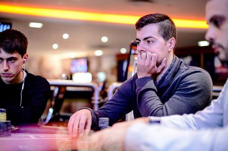 Sergi Reixach y Breixo González en la mesa final del Super Tuesday de PokerStars