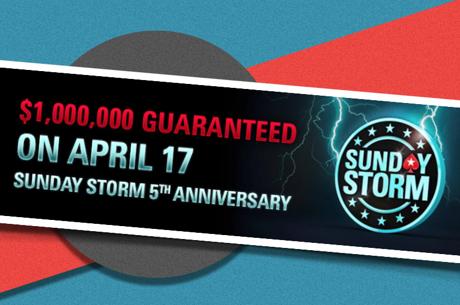"""Šventiniame """"Sunday Storm"""" turnyre - vienas milijonas dolerių"""