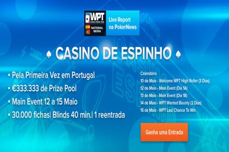 Ganha Uma Entrada no WPT National Iberia na PokerNews