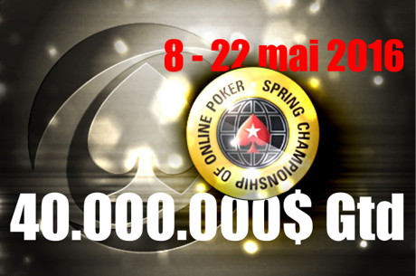 PokerStars anunta 40.000.000$ premii la SCOOP 2016, intre 8 si 22 mai