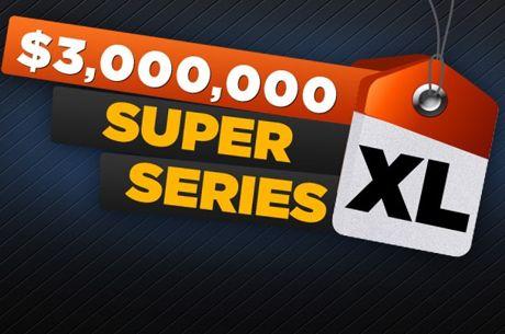 Super XL Series с $3 милиона гарантирани през май в 888 Poker
