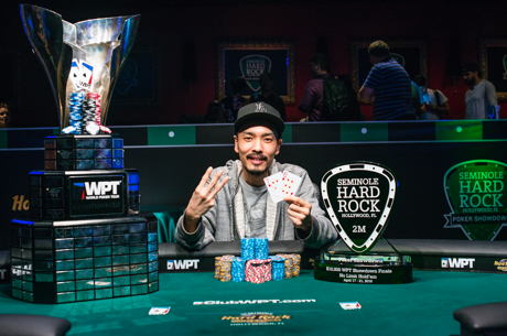 Chino Rheem Wins Third World Poker Tour Title and $705,885 at Seminole Hard Rock
