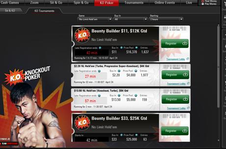 Спечели дял от $120,000 всяка седмица в новите Sit&KO...